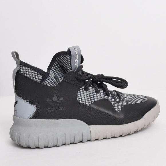 new arrival 0e4c2 768cd adidas Other - Adidas Tubular Men s Carbon Grey Knit Shoes